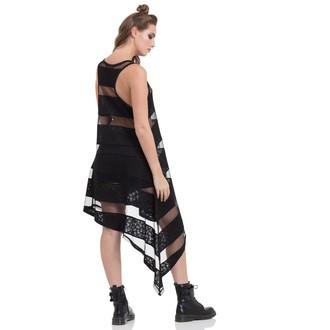 Damen Kleid JAWBREAKER - Skull Striped, JAWBREAKER