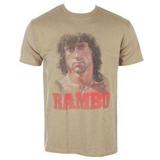 Herren T-Shirt Film RAMBO - GRUNGE RAMBO, AMERICAN CLASSICS, Rambo