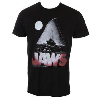 Herren T-Shirt Film - JAWS NIGHT - AMERICAN CLASSICS, AMERICAN CLASSICS, Der weiße Hai