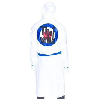 Bademantel The Who - Logo - Weiß / Blau, NNM, Who