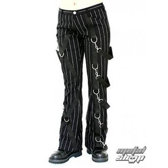 Pants Damen Aderlass - Cross Pants Pin Stripe (Black-White), ADERLASS