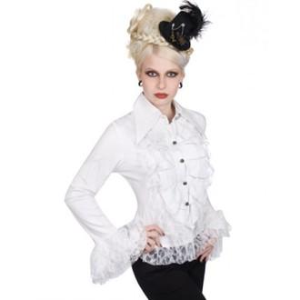 Damen Hemd Aderlass - Riffle Blouse Fine Denim (White), ADERLASS