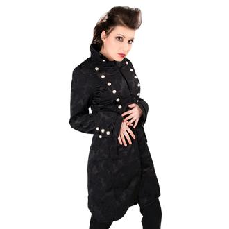 Mantel Damen Aderlass - Ladys Corsair Coat Brocade Black, ADERLASS