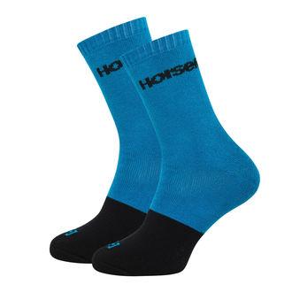 Socken HORSEFEATHERS - MILTON -  BLAU , HORSEFEATHERS