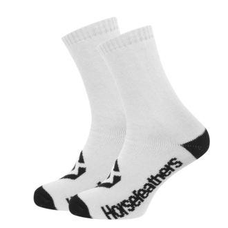 Socken HORSEFEATHERS - LOBY - WEISS, HORSEFEATHERS