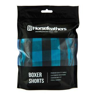 Herren Boxershorts HORSEFEATHERS - APOLLO - METHYL  BLAU , HORSEFEATHERS