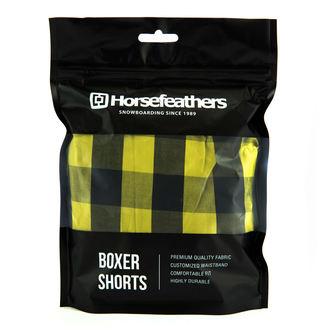 Herren Boxer Kurze Hose HORSEFEATHERS - APOLLO - Citronella, HORSEFEATHERS