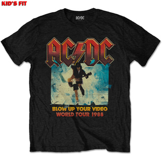 Kinder T-Shirt AC / DC - Blow Up Your Video - ROCK OFF, ROCK OFF, AC-DC