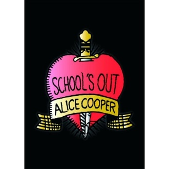 Postkarte Alice Cooper - ROCK OFF, ROCK OFF, Alice Cooper