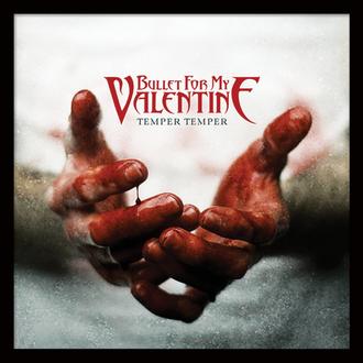 Poster mit Bilderrahmen Bullet For My Valentine - (Temper Temper) - PYRAMID POSTERS, PYRAMID POSTERS, Bullet For my Valentine