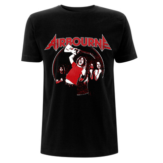 Herren T-Shirt Metal Airbourne - Fist Pumping - NNM, NNM, Airbourne