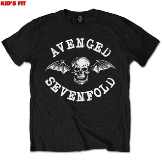 Kinder T-Shirt Avenged Sevenfold - Classic Deathbat - ROCK OFF, ROCK OFF, Avenged Sevenfold