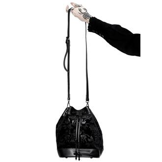 Handtasche (Tasche) KILLSTAR - At Nightfall Velvet - SCHWARZ, KILLSTAR