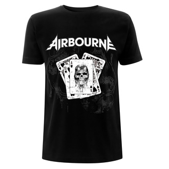 Herren T-Shirt Metal Airbourne - Playing Cards - NNM, NNM, Airbourne