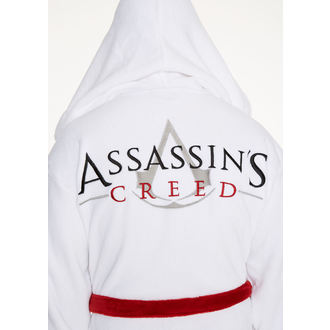Bademantel Assasine Creed - White Logo, NNM