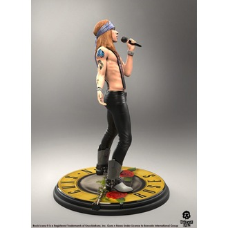 Figur Guns N' Roses - Axl Rose - Rock Iconz, KNUCKLEBONZ, Guns N' Roses