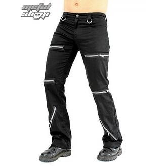Herrenhose Black Pistol - Destroy Pants Black Denim, BLACK PISTOL