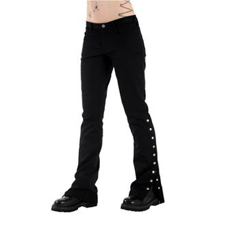 Damenhose Black Pistol - Button Hipster Black Denim, BLACK PISTOL