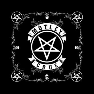 Halstuch Mötley Crüe - Pentagram - RAZAMATAZ, RAZAMATAZ, Mötley Crüe