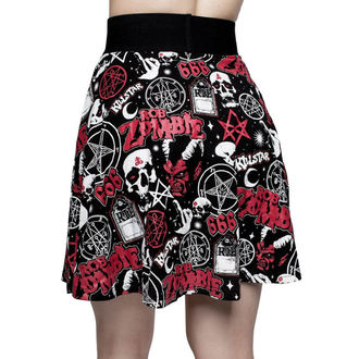 Damen Rock KILLSTAR - ROB ZOMBIE - Baby Death Skater - SCHWARZ, KILLSTAR, Rob Zombie