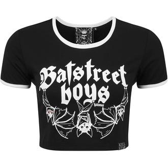 Damen T-Shirt (Top) KILLSTAR - Bat Street Boys Crop - KSRA002299