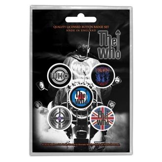 Buttons The Who - Quadrophenia, RAZAMATAZ, Who