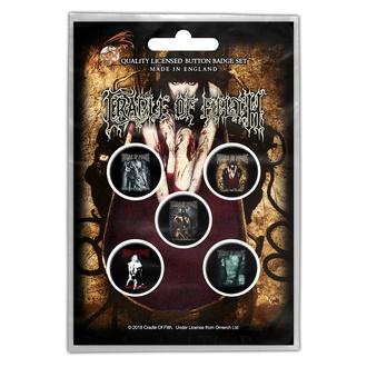 Abzeichen Cradle Of Filth - Albums - RAZAMATAZ, RAZAMATAZ, Cradle of Filth