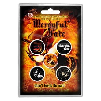 Abzeichen Mercyful Fate - Don't Break The Oath - RAZAMATAZ, RAZAMATAZ, Mercyful Fate