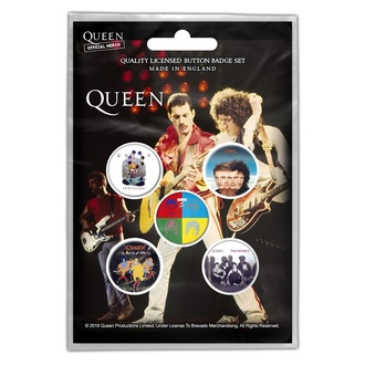 Buttons Queen - Later Albums, RAZAMATAZ, Queen