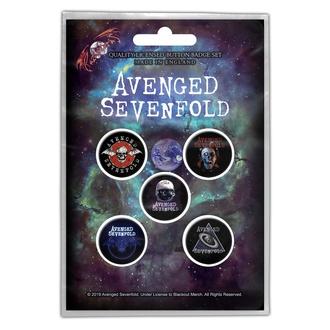 Buttons Avenged Sevenfold - The Stage, RAZAMATAZ, Avenged Sevenfold