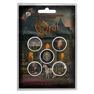 Buttons Opeth - In Caude Venenum, RAZAMATAZ, Opeth