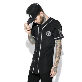 Unisex T-Shirt BLACK CRAFT - Team Satan Baseball Jersey, BLACK CRAFT