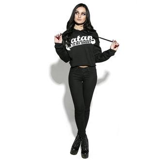 Damen Hoodie - Satan Is My Daddy - BLACK CRAFT, BLACK CRAFT