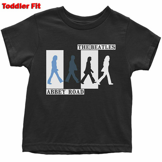Kinder T-Shirt Beatles - Abbey Road Colours Crossing, ROCK OFF, Beatles
