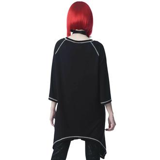 Unisex-T-Shirt (Tunika) KILLSTAR - Beloved Longline - Schwarz, KILLSTAR