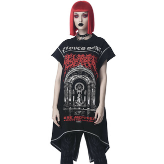 T-shirt (Tunika) unisex KILLSTAR - Beloved Longline - Schwarz, KILLSTAR