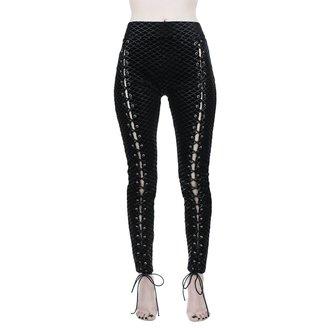 Damen Leggings KILLSTAR - Black Sea Lace-Up - SCHWARZ, KILLSTAR
