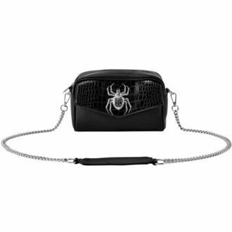 Handtasche (Tasche) KILLSTAR - Schwarze Witwe Kreuzkörper - Schwarz, KILLSTAR