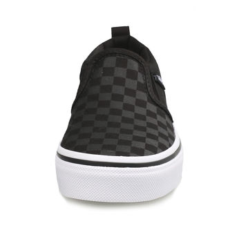 Kinder Low Sneaker - YT ASHER (Checker) Blk / Bl - VANS, VANS