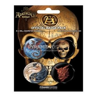 Button - Alchemy - BP80082, ALCHEMY GOTHIC