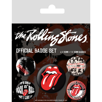 Abzeichen Rolling Stones - (Classic) - PYRAMID POSTERS, PYRAMID POSTERS, Rolling Stones