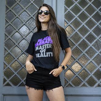 Damen T-shirt Black Sabbath - Wavy Logo, ROCK OFF, Black Sabbath