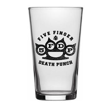 Glas FIVE FINGER DEATH PUNCH - KNUCKLE LOGO - RAZAMATAZ - BG008