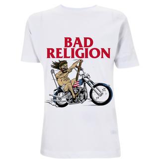 Herren T-Shirt Bad Religion - American Jesus - Weiß