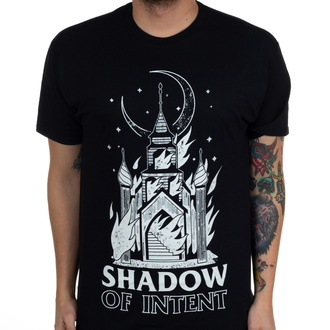 Herren T-Shirt Shadow of Intent - Burning Church - Schwarz - INDIEMERCH, INDIEMERCH, Shadow of Intent