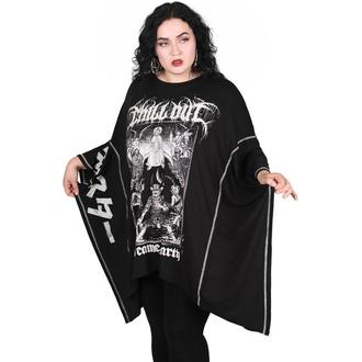 Damen T-Shirt (Tunika) KILLSTAR - Chill Out Batwing  - Schwarz, KILLSTAR