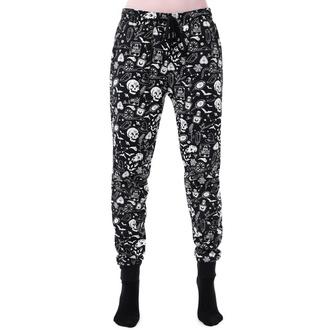 Damen Hose (Pyjama) KILLSTAR - Dark Slumbers - SCHWARZ, KILLSTAR