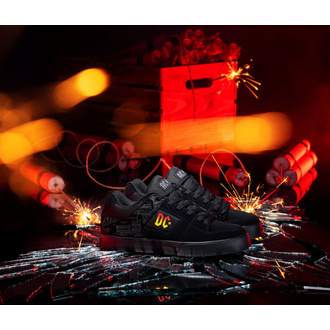 Schuhe DC - AC / DC - TNT. - SCHWARZ / DK GRAU, DC, AC-DC