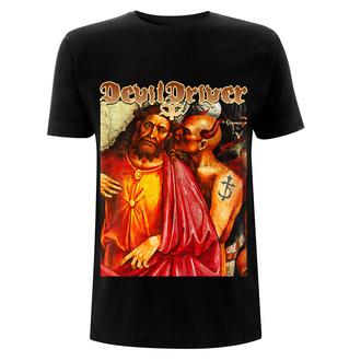 Herren T-Shirt Metal Devildriver - Jesus Care Less - NNM, NNM, Devildriver