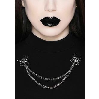 Kettennägel KILLSTAR - Tötliches Halsband - Silber, KILLSTAR